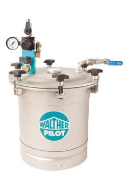 Materialdruckbehälter LDG 10 - Nutzinhalt 9 L  - Edelstahl - max. 6 bar