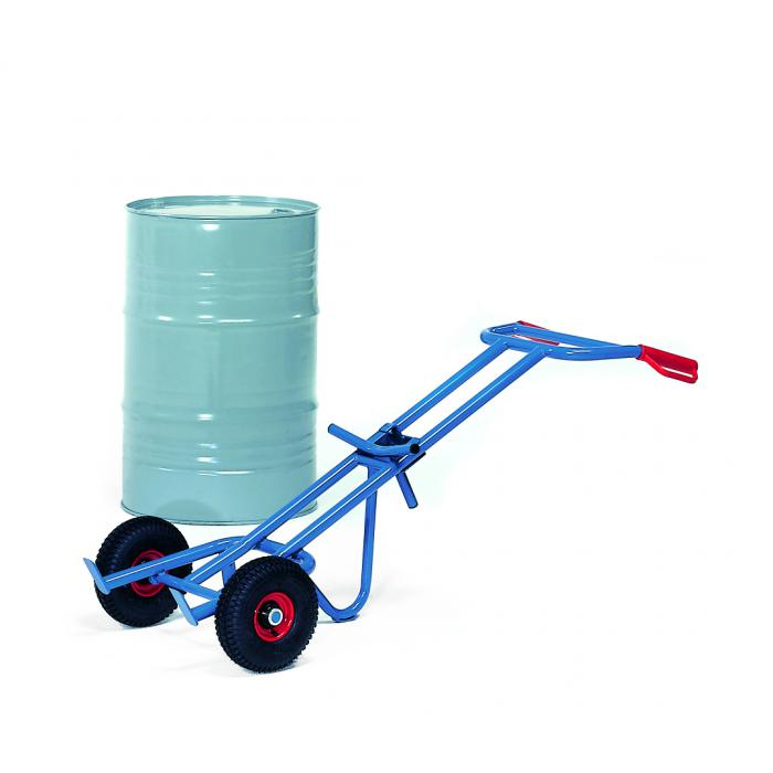 Drum truck - carrying capacity 300 kg - for all 200-liter drums with edge