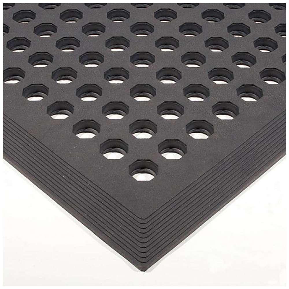 Arbeitsplatzmatte Worksafe - SBR/Nitrilgummi - 15 mm - 0,9x1,5 m
