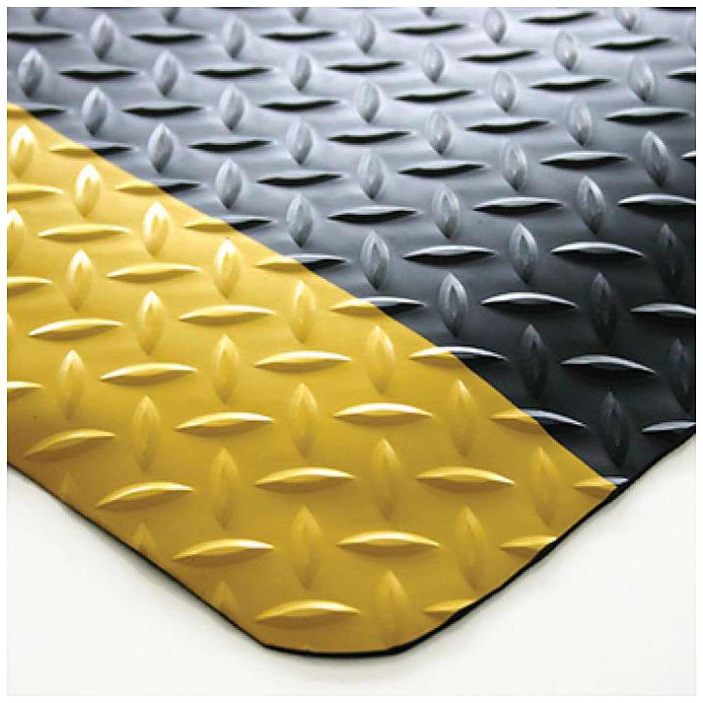 Arbeitsplatzmatte Safety Deckplate - PVC - zweilagig - 14 mm