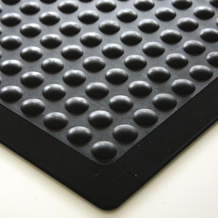 Arbeitsplatzmatte bubblemat - Naturgummi - 14 mm