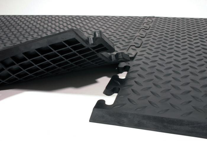 Arbeitsplatzmatte ComfortLok - SBR/NBR - 12,5 mm