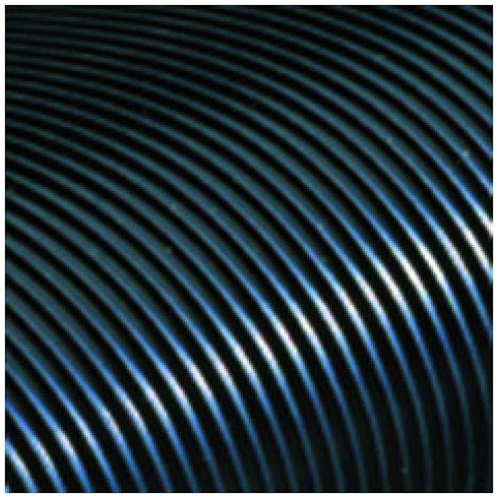 Gummilöpare COBArib - räfflad naturgummi - 4 eller 6 mm tjock - metervara