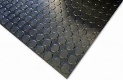 Arbetsmatta COBAdot standard - för golv och bord - naturgummi