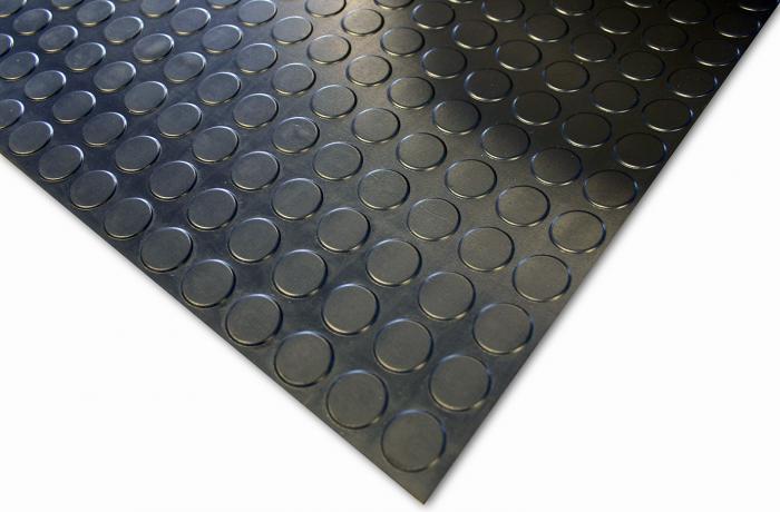 Boden- und Tischbelag COBAdot Standard - Naturgummi - 3mm od 4,5 mm