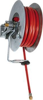 Automatischer Schlauchaufroller für Druckluft und Wasser bis 15 bar - Typ offen