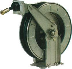 Auto. Schlauchaufroller für Druckluft und H2O bis 50 bar