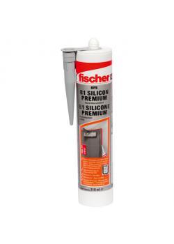Premium brandskydds silikon DFS 310 ml - grå