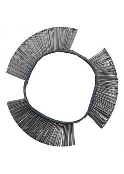 Drahtrundbürste - Maße 103 x 23 x 0,5 & 103 x 23 x 0,7 mm - gerade & abgewinkelt