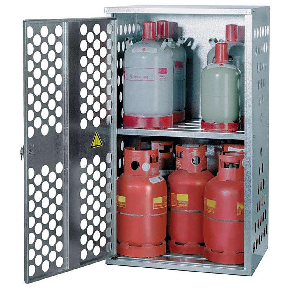 Armadi Per Bombole.Armadio Per Bombole Gas Liquido Diverse Capacita Di Stoccaggio 4x33kg 10x11kg