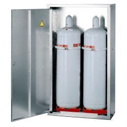 Armadio per bombole gas liquido -volume stoccaggio  2 x 33kg