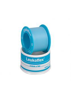 Leukoflex - Heftpflaster 5 m x 2,50 cm - dehnbare Polyethylenfolie
