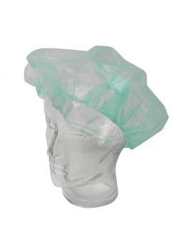 Einmal-Kopfhaube - Grün - barettförmig