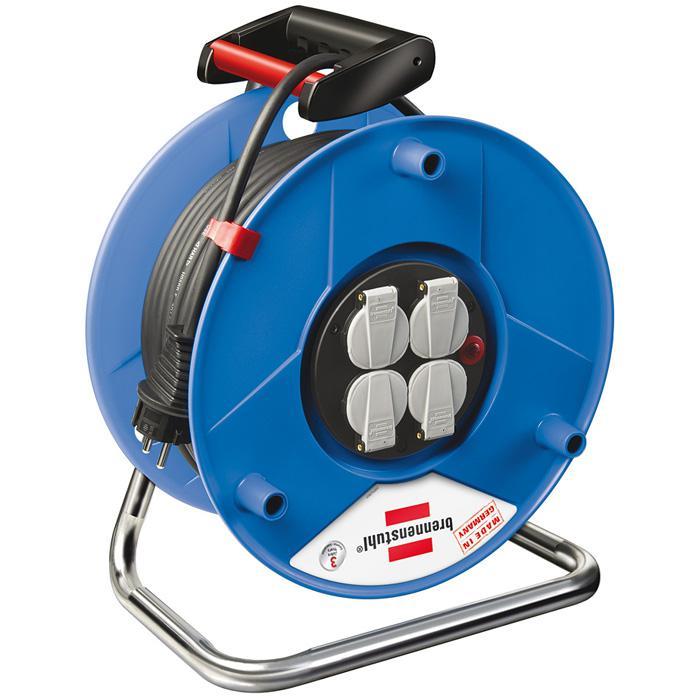 Garant® Export Kabeltrommel - H05VV-F 3G1,5 - Kunststoff - Schwarz