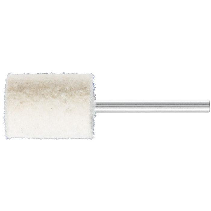 Polier-Stift - PFERD - Filz - Schaft-Ø 3 mm - mit Stirnbohrung - D x T 15 x 20 mm - VE 10 Stk. - Preis per VE