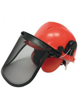 Sicherheitshelm - mit Visier und Gehörschutz - Größe 52 bis 62 cm