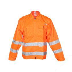 Restposten - Warnschutz Bundjacke - EN 471 Richtlinie 89/686/EEC - Größe 50 - orange