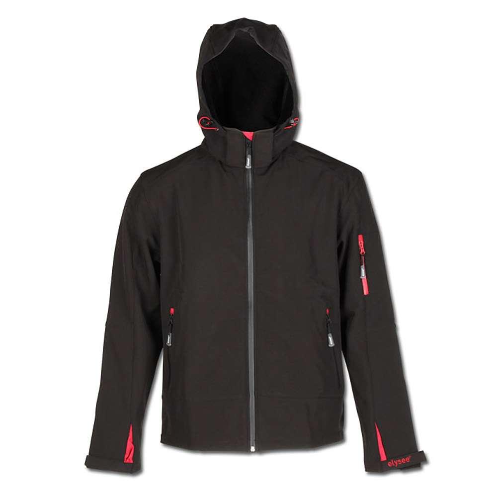 """Arbeitsjacke """"ZETA"""" Softshelljacke - 100% PES - Farbe schwarz"""