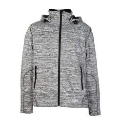"Jacke ""Marble"" - 100% Polyester - grau"