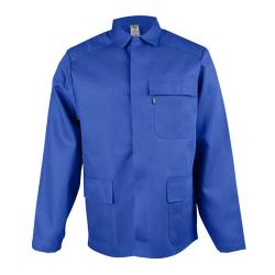 "Welding jacket ""beb"" standard EN 531 test subjects royal blue, heat protection"