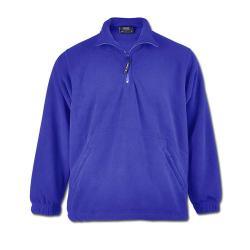 Premium fleece jacket - 1/4 zipper - 100% polyester - 380 g/m²