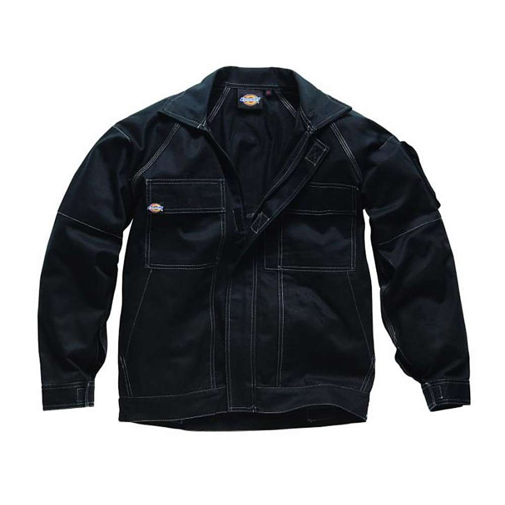 """Giacca lavoro """"GDT 290"""" - Dickies - Nero - 100% cotone"""