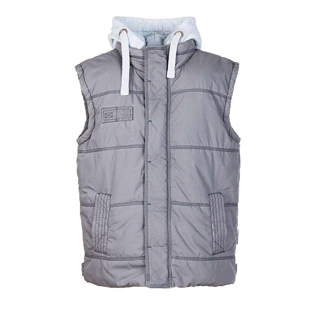 Arbetsväst - XS-XXXL - bomull och polyester - grå