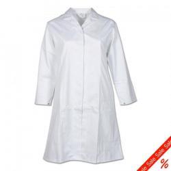 """Damen Berufsmantel """"Food"""" von Planam - 65% Polyester, 35% Baumwolle - DIN 10524 - Größe 38"""