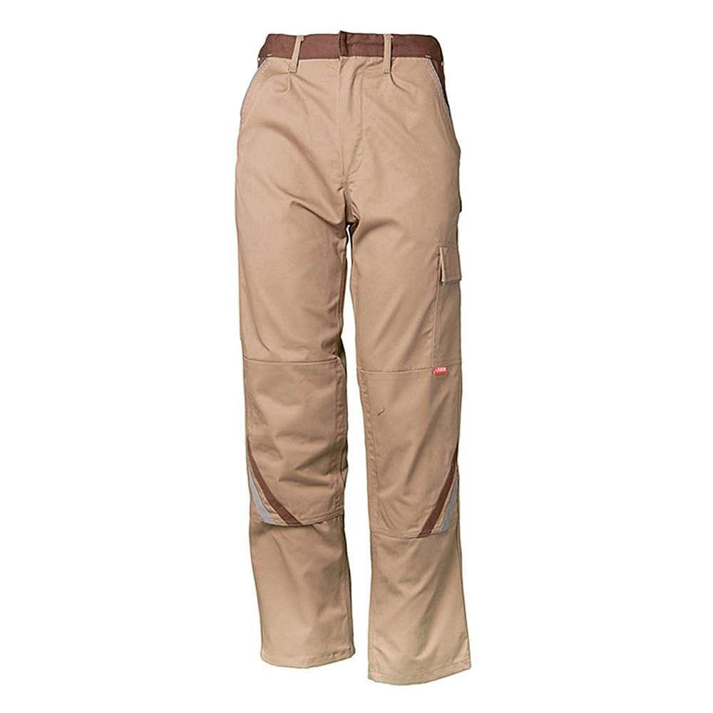 """Byxor """"High"""" Planam - 35/65% MG - beige / brun"""