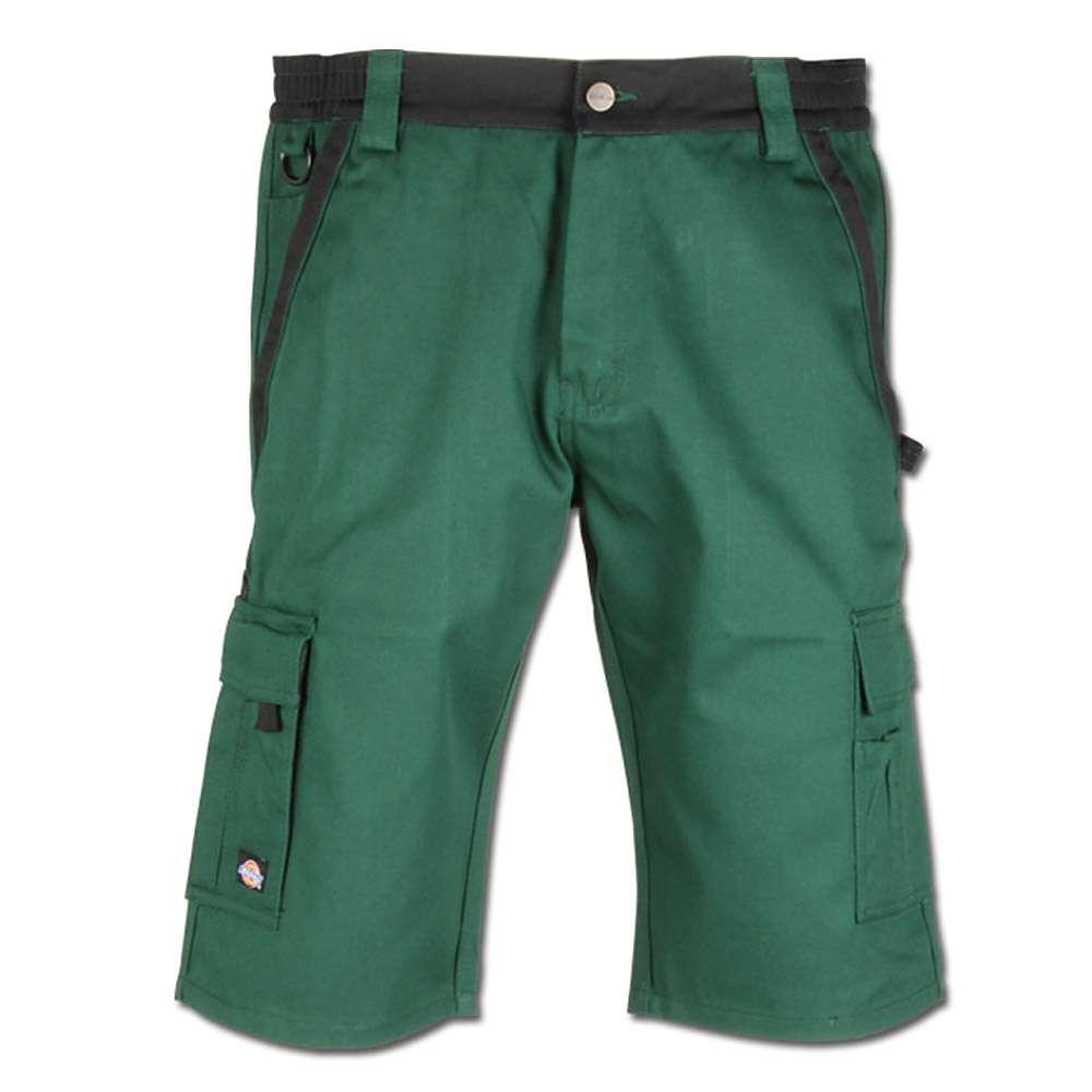 """Shorts """"Industry300"""" - Dickies - 65% polyester - grön/svart"""