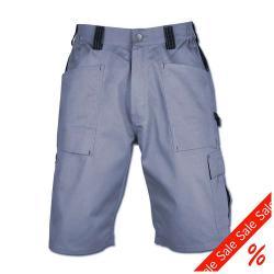 """Restposten - Shorts """"GDT 210"""" - Dickies - grau/schwarz - 100% Baumwolle - Gr.50"""