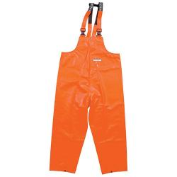 Offshore Dungarees - Ocean - Oil resistant rain pants - Size S to 8XL - Orange