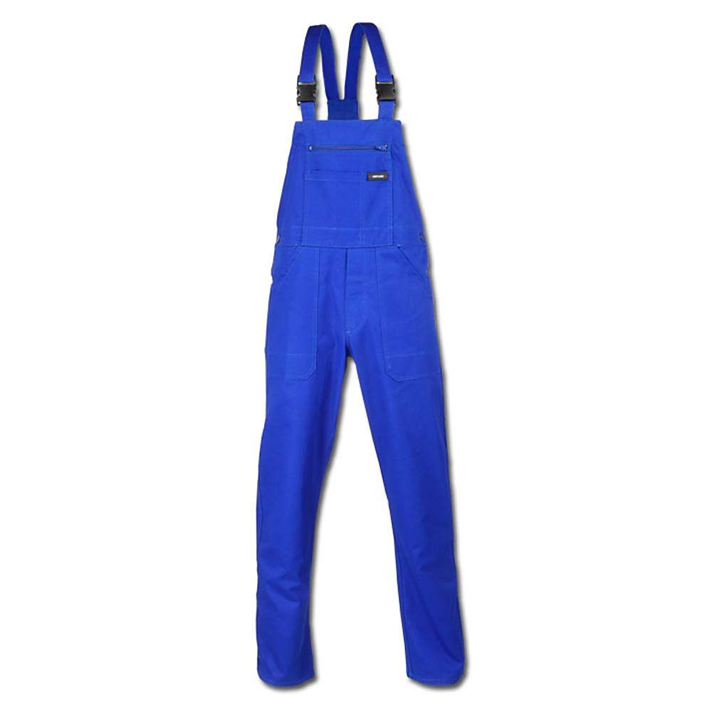 "Latzhose ""TRIER"" - 100% BW - Stoffgewicht 290 g/m² - kornblau"