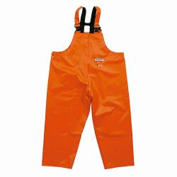 Dungarees - Ocean - Flame retardant - Rain protection - Gr. S to 8XL - Orange