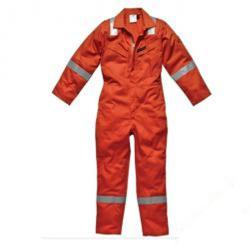 "Restposten - Overall ""Firechief"" - Dickies  - Größe 56 - Farbe orange - EN ISO 11612"
