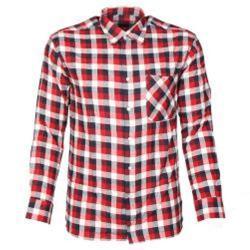 """Flenellskjorta """"Alabama"""" - 100% bomull - lång ärm - storlek L"""