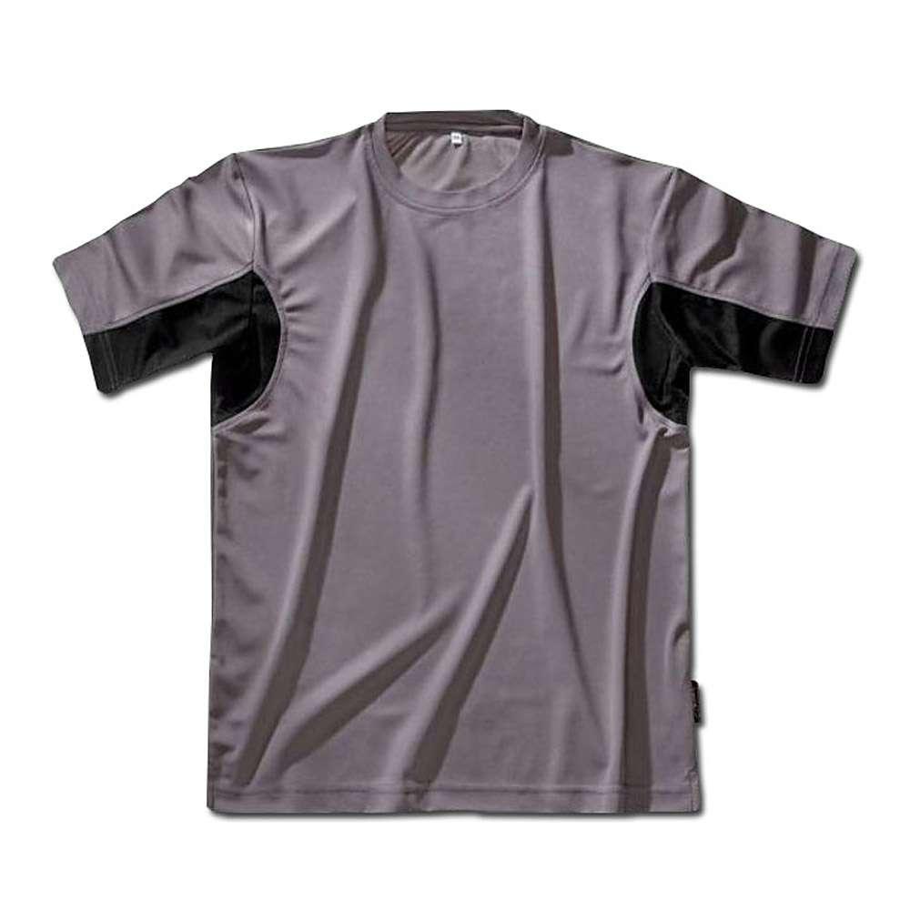 Funktionell T-shirt - grå / svart - storlek M-XXL - CoolDry®