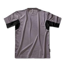 Funktions-T-Shirt -  grau/schwarz - Größe M-XXL - CoolDry®