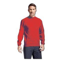 Sweatshirt - feuerrot - Größe M-XXXL - PROMODORO
