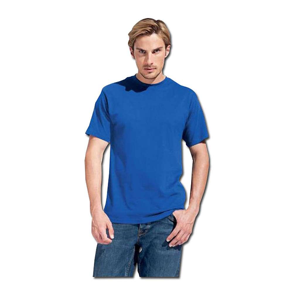 T-shirt - KingSize - 100% bomull, 180 g/m² - M-XXXL - kungsblå
