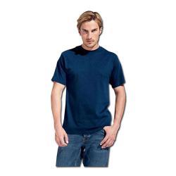 T-shirt - KingSize - 100% bomull, 180 g/m² - M-XXXL - marinblå