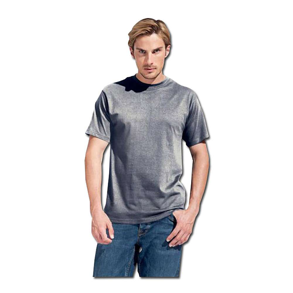Premium T-Shirt - lichtgrau - KingSize - Größe M-XXXL - PROMODORO