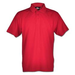 Poloshirt - Dickies - 65%/35% Polyester/Baumwolle - Größe L - Rot