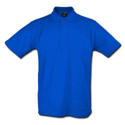 """Restposten - Poloshirt - Gr. L - königsblau - 50% PES - 50% CO - 220 g/m² - 60°C waschbar - sehr robust - gestrickter Kragen - für Freizeit und Beruf - """"Classic"""""""