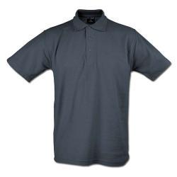 """Restposten - Poloshirt - Größe L - anthrazit - 50% PES - 50% CO - 220 g/m² - 60°C waschbar - sehr robust - gestrickter Kragen - für Freizeit und Beruf - """"Classic"""""""