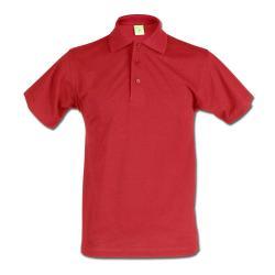 """Restposten - Poloshirt - Größe 4XL - rot - 50% PES - 50% CO - 60°C waschbar - sehr robust - verstärkter Kragen - verlängerter Rückseite - """"Active"""""""