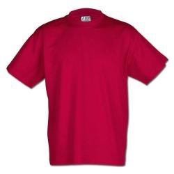 """Restposten - Shirt - Gr. S - rot - 100 % CO - Rundhals - erstärkter Schulter & Kragen - 40 °C waschbar - """"Premium"""""""