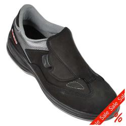 "Remainders - Work Shoes - Gr. 41 - black / gray - Techno-leather - ""Model Bern"" - S3 SRC - water repellent"