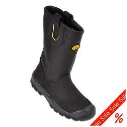 """Restes - bottes de sécurité - Diadora """"bateau Rising"""" - EN ISO 20345-S3 - noir - taille 43"""