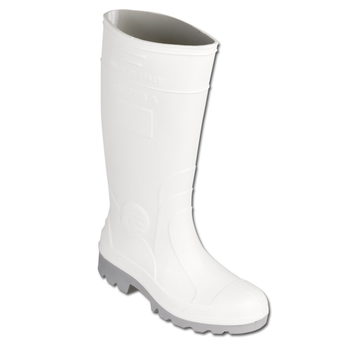 "Boot ""LECCE"" - PU - White Color - EN 345 S4"